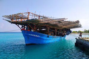 Khắc phục sự cố hư hỏng máy cho tàu cá