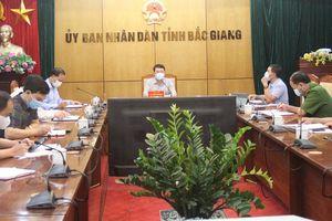 Bắc Giang triển khai các biện pháp phòng, chống dịch ở mức cao nhất