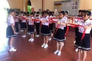 Hơn 350 học sinh tham gia Hội thi 'Nghi thức Đội giỏi' cấp thành phố