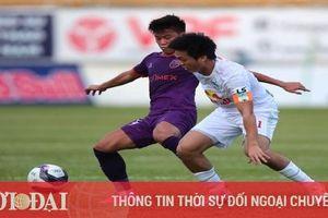 Lịch thi đấu vòng 13 V-League 2021: HAGL hành quân đến vùng đất dữ