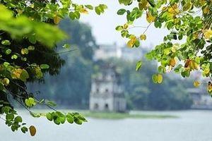Đầu tuần, Hà Nội đỏng đảnh sáng nắng, chiều mưa