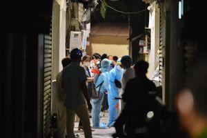 Hà Nội phong tỏa ngõ 86 Phú Kiều sau khi có ca dương tính với SARS-CoV-2