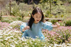 Con gái Hà Kiều Anh càng lớn càng xinh