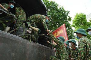258 chiến sĩ chi viện địa bàn biên giới Tây Ninh