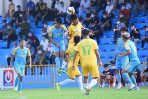 Hòa Bình FC có điểm số lịch sử trong ngày ra mắt giải hạng Nhì