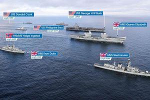 'Vén màn' vụ hai chiến hạm Nga 'xuyên thủng' nhóm tác chiến tàu sân bay Anh
