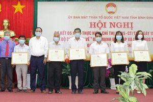 Bình Định: Hội nghị sơ kết 5 năm thực hiện Chỉ thị số 05-CT/TW của Bộ Chính trị