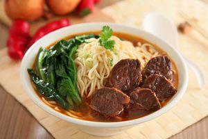 Cách làm mì bò Đài Loan ngon như nhà hàng