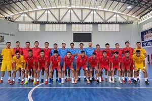 Tuyển Futsal Việt Nam hội quân chuẩn bị 'săn vé' World Cup