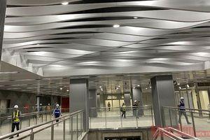 Hoàn thiện sớm ga ngầm Ba Son thuộc tuyến metro Bến Thành-Suối Tiên