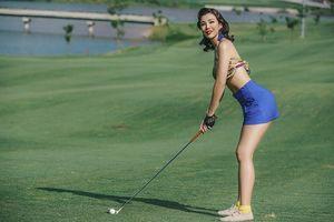 Nhan sắc gợi cảm đến 'rụng tim' của nữ golfer xinh đẹp nhất Việt Nam