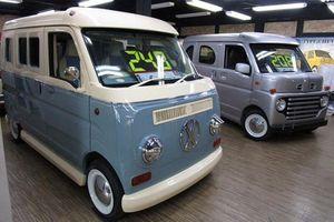 Dàn xe kei tí hon 'đội lốt' van cổ điển cực chất tại Nhật Bản