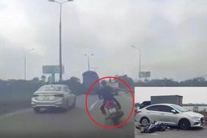 Đánh võng, tạt đầu xe ô tô, nam thanh niên gặp nạn tử vong