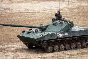 Ấn Độ 'không ngẫu nhiên' khi dự kiến mua hàng trăm xe tăng hạng nhẹ Sprut-SD của Nga
