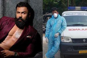 Sao nam Ấn Độ tình nguyện làm tài xế chở bệnh nhân và thi thể người mắc COVID-19