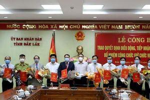 Đắk Lắk bổ nhiệm hàng loạt lãnh đạo sở, ngành