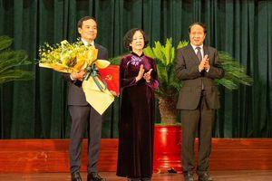 Ông Trần Lưu Quang giữ chức Bí thư Thành ủy Hải Phòng