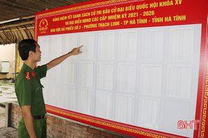 Trại tạm giam Công an Hà Tĩnh tập trung tuyên truyền về bầu cử cho người bị tạm giam, tạm giữ