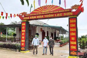 Xã vùng thượng phía Nam Hà Tĩnh dồn sức 'chặng nước rút' xây dựng nông thôn mới