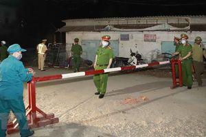 Vĩnh Phúc: Lập 4 chốt tạm thời để kiểm soát dịch bệnh ở thôn Báo Văn 1