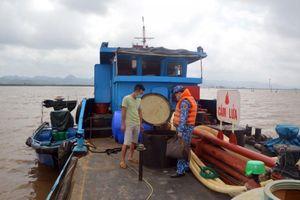 Hải Phòng: Phát hiện tàu chở 25.000 lít dầu DO không rõ nguồn gốc