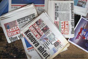 Báo in bị 'xóa sổ' tại Kosovo vì đại dịch COVID-19