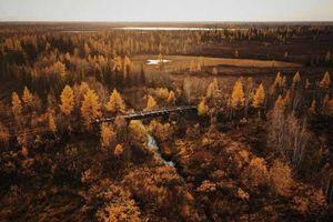 Tuyến đường sắt bị lãng quên của Liên Xô cũ đẹp buồn xao xuyến