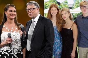 Phản ứng bất ngờ của con gái Bill Gates khi bố mẹ ly hôn