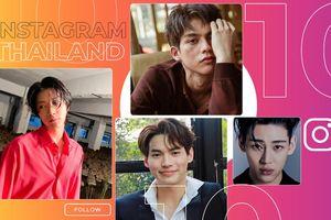 10 sao nam Thái Lan có lượt tăng follow nhiều nhất trên Instagram tháng 4: Bambam bất ngờ tuột hạng