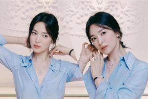 Song Hye Kyo diện áo sơ mi mỏng manh thôi cũng khiến fan muốn tan chảy vì đẹp mê hồn