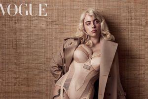 Billie Eilish lột xác gợi cảm như minh tinh Hollywood trên bìa tạp chí