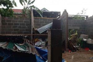 Quảng Trị: Mưa đá kèm lốc xoáy, hàng chục nhà dân bị tốc mái
