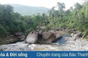 Điểm du lịch thác Ma Hao tăng cường phòng, chống dịch, bệnh COVID-19