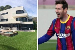Messi mời cả đội về nhà riêng họp mặt