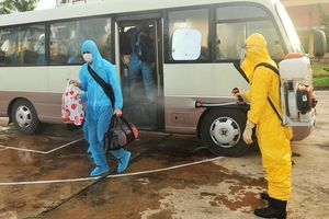 Bắc Giang: Tiếp nhận 203 người vào cách ly y tế phòng, chống Covid-19
