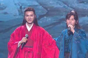 Không những hát Cung Tuấn còn bắn rap ngay trên sân khấu concert Sơn Hà Lệnh
