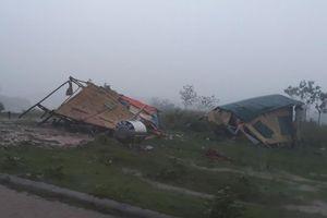 Giông lốc gây thiệt hại tại Quảng Trị