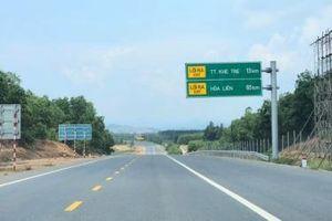 Quyết tâm thông xe giai đoạn 1 cao tốc La sơn - Túy Loan trong tháng 6