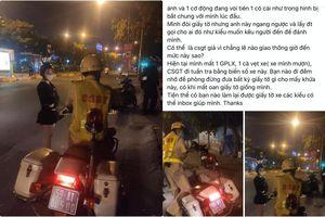 TP.HCM: Xác minh thông tin CSGT bị 'tố' giữ bằng lái xe không đúng luật