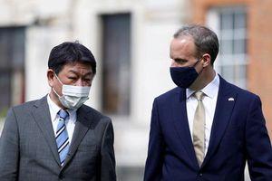 Nhật Bản và Anh tăng cường hợp tác an ninh
