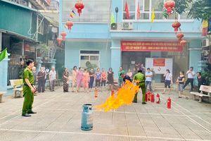 Quận Thanh Xuân tăng cường phòng cháy, chữa cháy