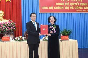 Phó Chánh án TAND tối cao Lê Hồng Quang giữ chức Bí thư Tỉnh ủy An Giang