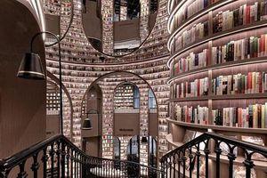 Lạc lối trong nhà sách rộng như mê cung với hơn 80.000 cuốn sách ở Thành Đô