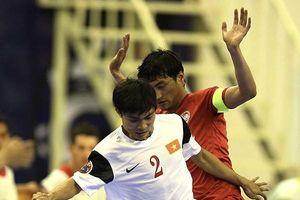 Ngày 15-5, tuyển Futsal Việt Nam đi săn vé World Cup