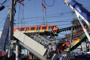 Giận dữ bao trùm Mexico sau vụ tàu điện rơi từ cầu vượt