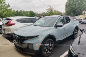 Bán tải Hyundai Santa Cruz bản thương mại xuất hiện tại Mỹ