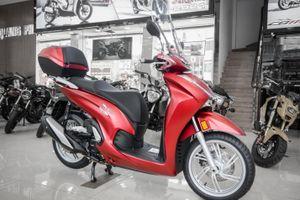 Chi tiết bộ phụ kiện của Honda SH 350i tại Việt Nam