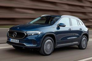SUV điện Mercedes EQA có thêm phiên bản 300 4Matic và 350 4Matic