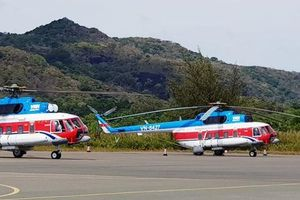 Đề xuất chi 700 triệu đồng thuê trực thăng chở đề thi ra đảo Phú Quý