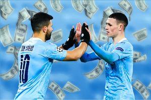 Man City để dàn sao 454,2 triệu euro dự bị trước PSG